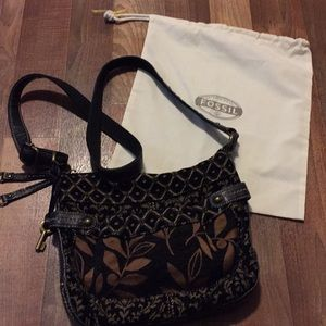 Fossil boho style purse W dust cover